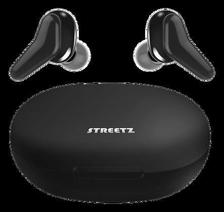 True Wireless in-ear earbuds with charging case