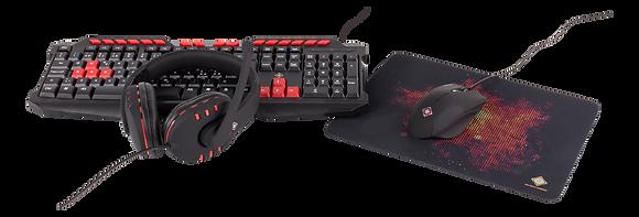 4-in-1 Gaming Gear Kit, UK layout