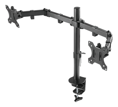 """Dual Monitor Desk Mount for 13""""-32"""" screens"""