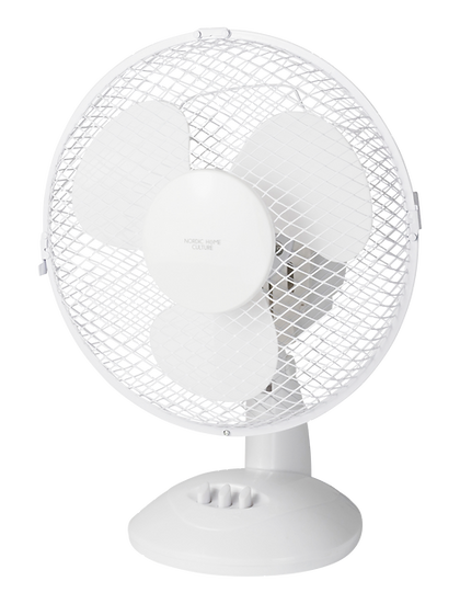 Desk fan, 230mm, two speed setting, 20W, tiltable