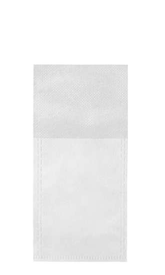 Empty tea bags, 50-pack, single-use, non-woven