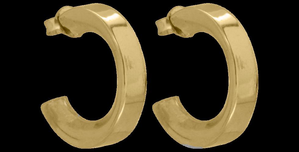 Gyldne creoler øreringe