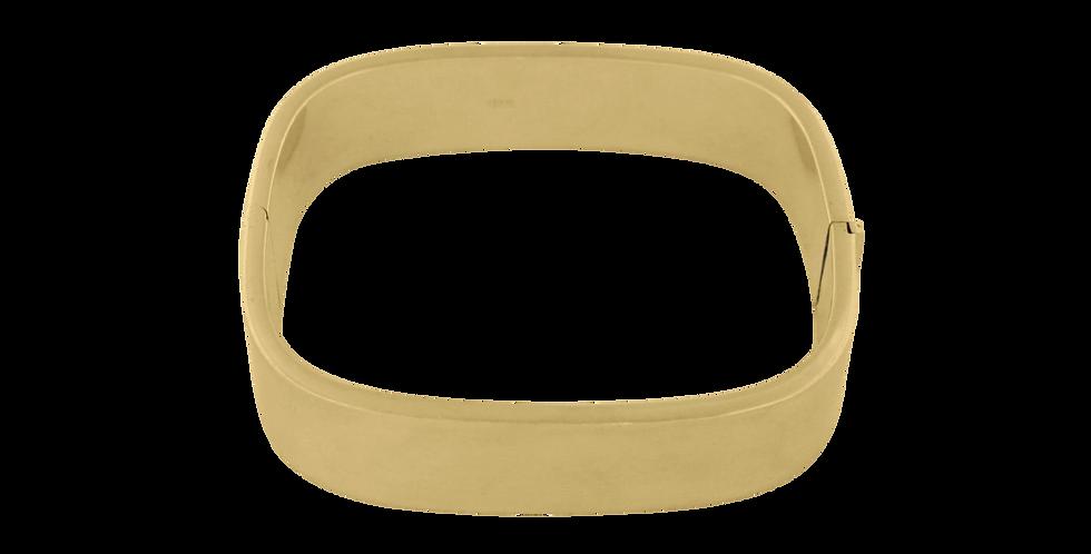 Square armbånd - forgyldt