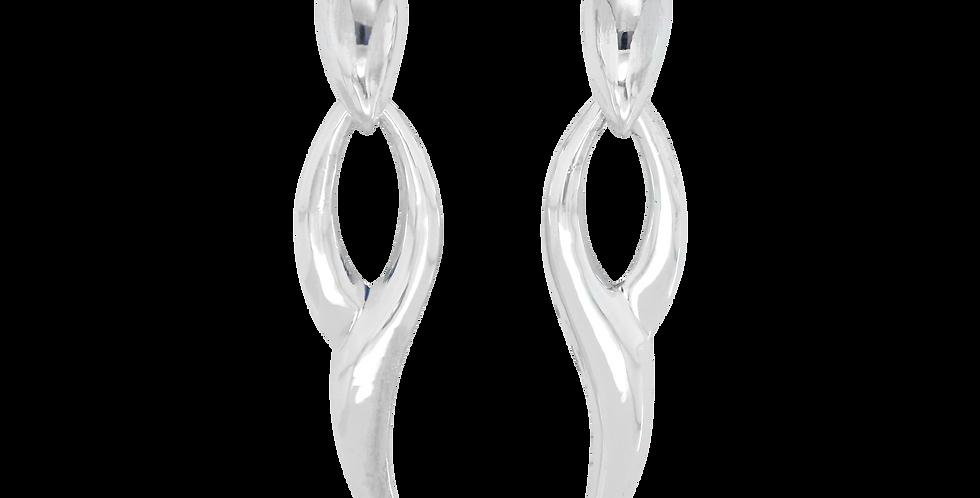 Sølvøreringe - Ørestikker af sølv