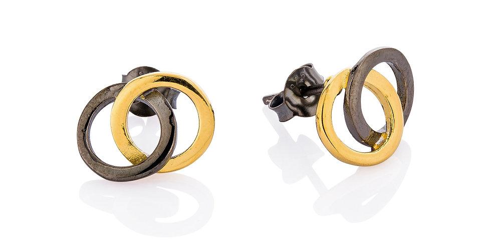 Ørestikkere med sammensatte ringe