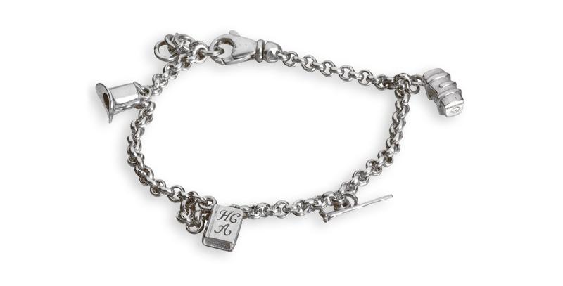 H.C. Andersen armbånd - armbånd med charms - eventyrsmykke