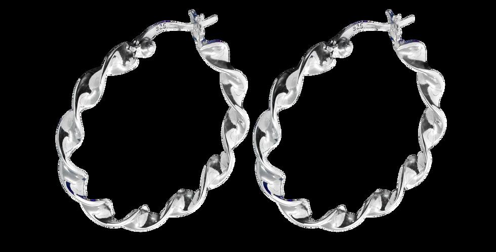 Snoede sølvcreoler