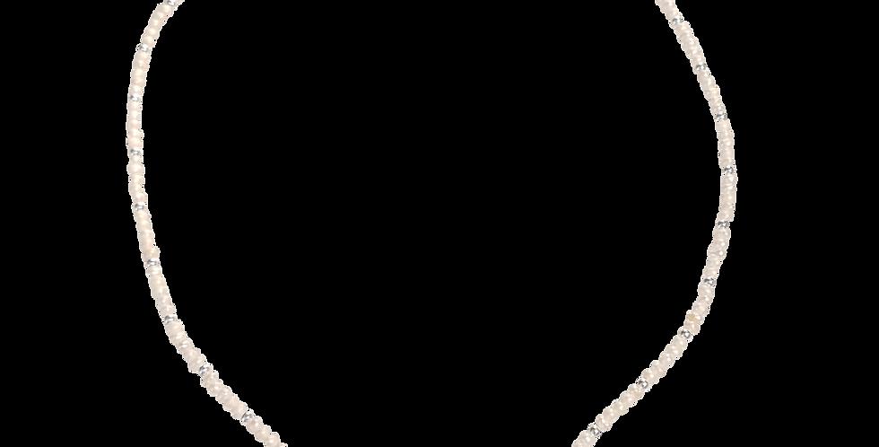 Halskæde med små perler - Elegance