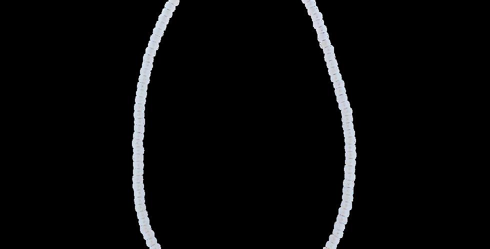Sølvhalskæde med turkis