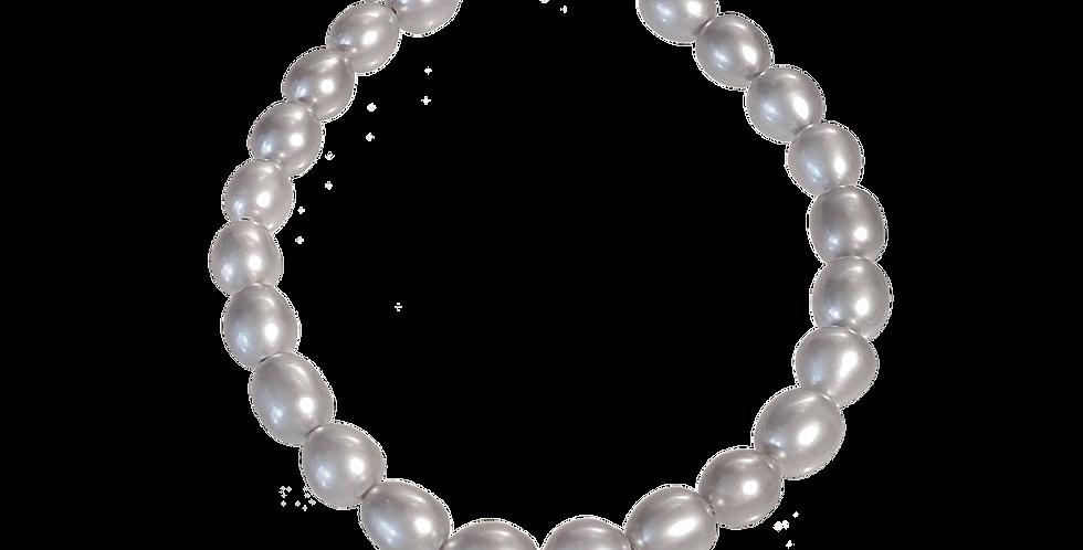 Armbånd med sølvperler