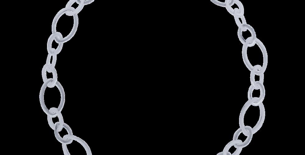 Halskæde med kædeled - leaf
