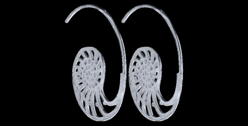 sølvøreringe orientalsk design