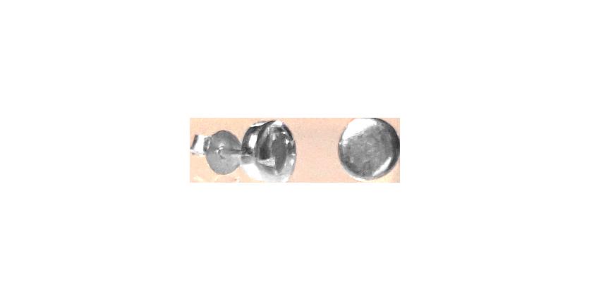 Minimalistiske ørestikkere i sølv
