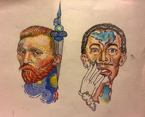 #wip #flashideas #art #painting #tattooi