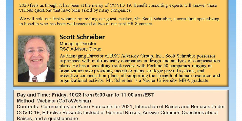 JASCO MEMBER EVENT - 26th CREO HR Webinar