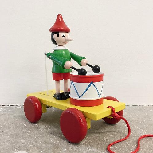 Pull Along Drumming Elf
