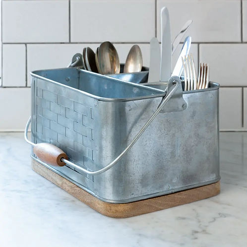 Cutlery Holder With Handle