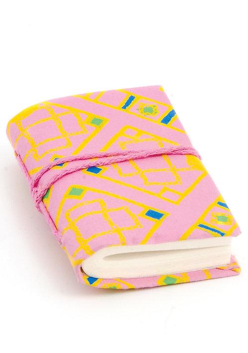 Miniature Fabric Notebooks