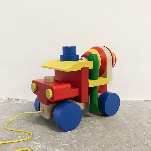 Build-Your-Own Wooden Truck