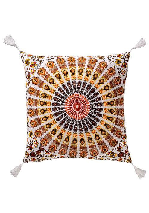 Mandala Design Cotton Cushion