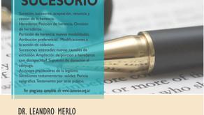 SEMINARIO INTENSIVO: DERECHO SUCESORIO EN EL COLEGIO DE ABOGADOS DE MORÓN