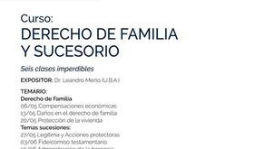 CURSO DE DERECHO DE FAMILIA Y SUCESORIO EN LUJÁN