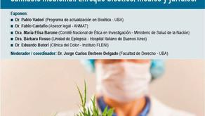 JORNADA SOBRE CANNABIS MEDICINAL - ENFOQUE BIOÉTICO, MÉDICO Y JURÍDICO EN LA UBA