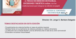Revista de Familia Sucesiones y Bioética, número de Diciembre 17