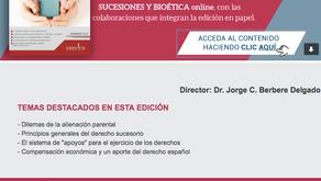 REVISTA DE FAMILIA SUCESIONES Y BIOÉTICA, DICIEMBRE
