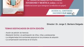 REVISTA TEMAS DE DERECHO DE FAMILIA SUCESIONES Y BIOETICA - NOVIEMBRE