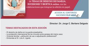NUMERO DE MAYO. REVISTA DE DERECHO DE FAMILIA, SUCESIONES Y BIOÉTICA DE ERREIUS