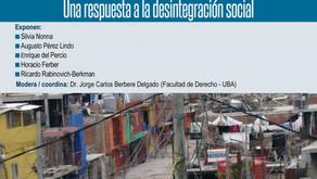 CONFERENCIA EN LA UBA: BIOPOLÍTICA Y DESARROLLO. UNA RESPUESTA A LA DESINTEGRACIÓN SOCIAL