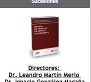 REVISTA DE DERECHO DE FAMILIA Y SUCESIONES Nº 12 - LEJISTER - DICIEMBRE