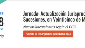 JORNADA DE ACTUALIZACION JURISPRUDENCIAL EN SUCESIONES, EN 25 DE MAYO