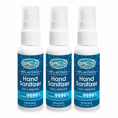 Alcohol Hand Sanitizer 2oz