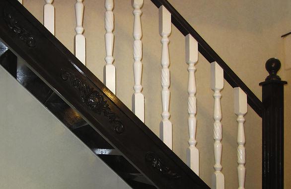 Деревянные лестницы в Орле