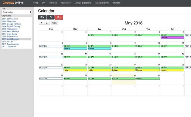 Scheduling Software