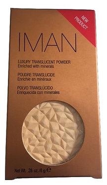 Iman Luxury Transulent Powder - Sand Light/ Medium