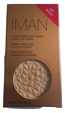 Iman Luxury Transulent Powder - Clay Medium