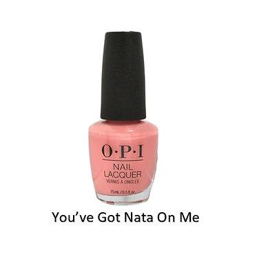 OPI Nail Polish - You've Got Nata On Me