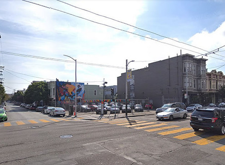 Mission District Corner with Potential Trades Hands
