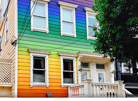 The Rainbow Houses of San Francisco