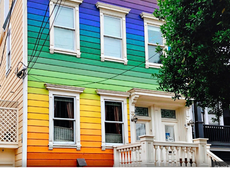 The Rainbow Houses of San Francisco