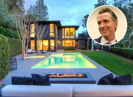 California Governor Gavin Newsom Selling Marin County Home for $6M