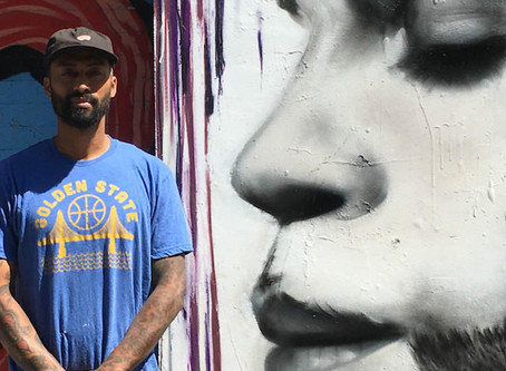Muralist and Tattoo Artist Mel Waters Leaves His Mark on San Francisco