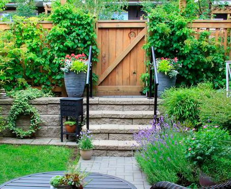 Simple steps to sprucing up small backyards