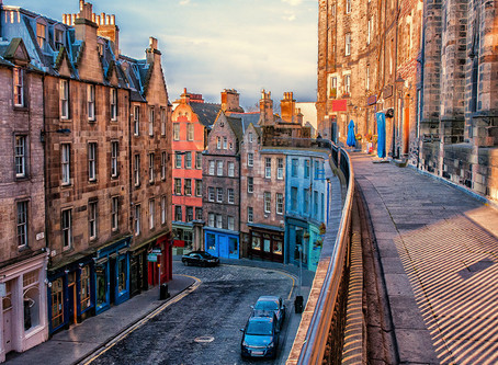 Prime Property Price Growth in Edinburgh at its Highest Level in a Decade