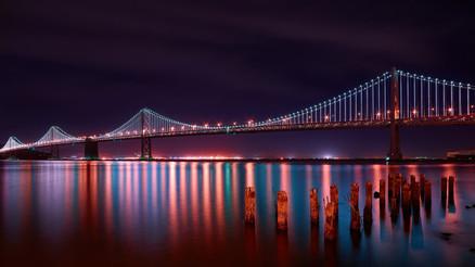 View the Bay Bridge Lights