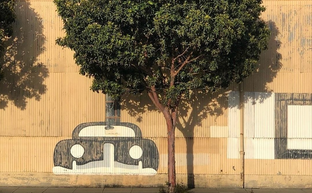 Mural in Dogpatch, San Francisco