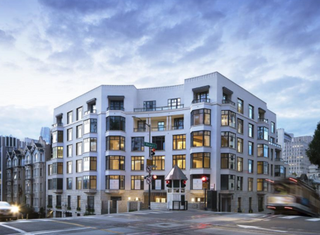 Penthouse for Nob Hill's new Crescent luxury development comes online